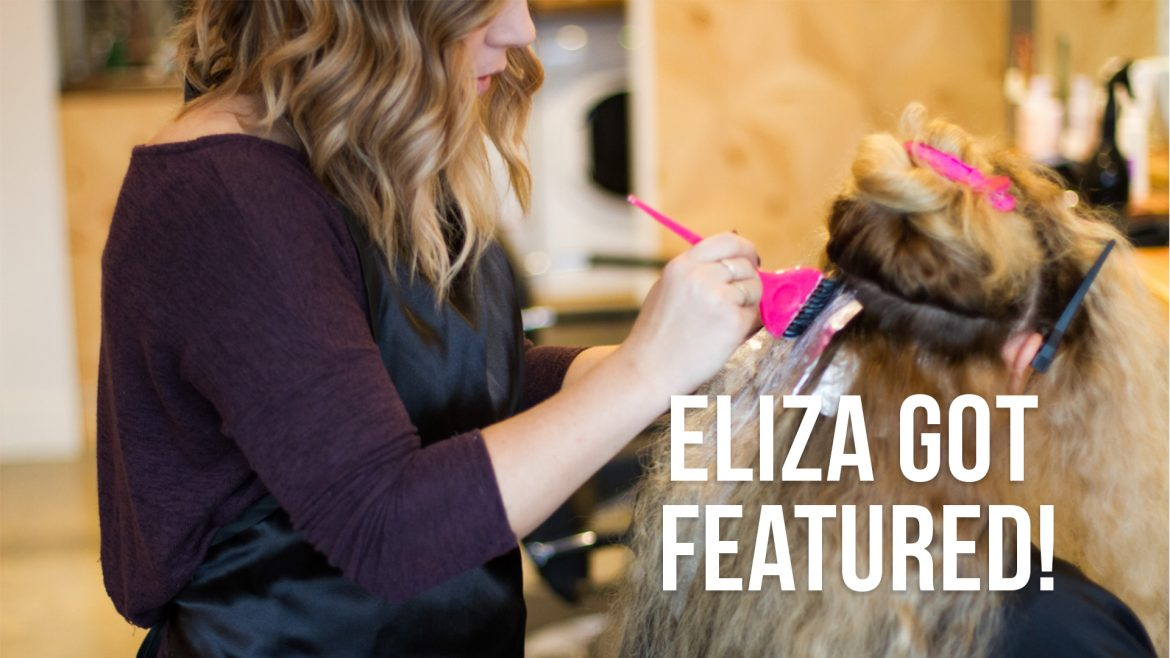Blanche Macdonald Feature on Eliza!