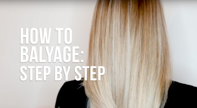 How to Balayage Step-by-Step