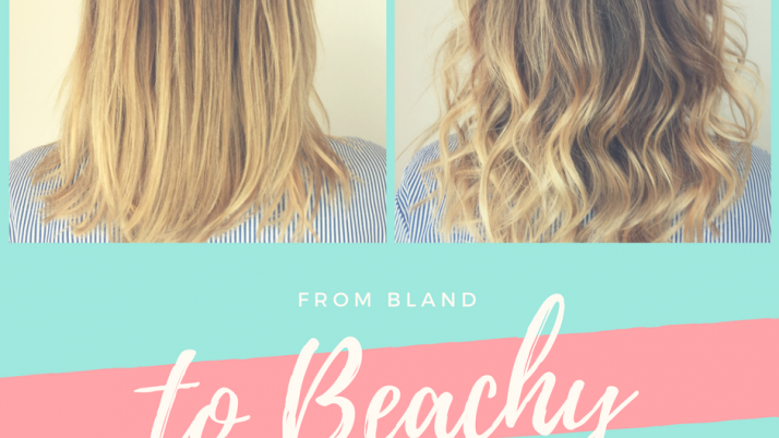 Beach waves in four easy steps.
