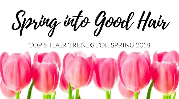 Spring into good hair.